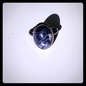 Jewelry - Lapis lazuli ring made by hand by me. Size 8-9